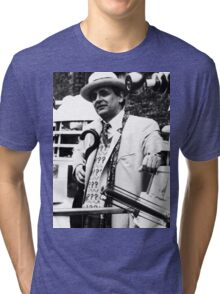 Sylvester McCoy Tri-blend T-Shirt