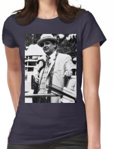 Sylvester McCoy Womens Fitted T-Shirt