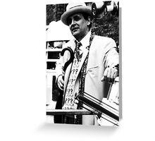 Sylvester McCoy Greeting Card