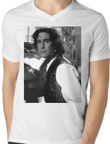 Paul McGann Mens V-Neck T-Shirt