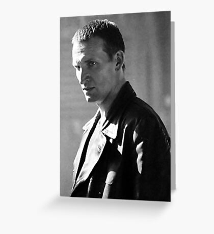 Christopher Eccleston Greeting Card