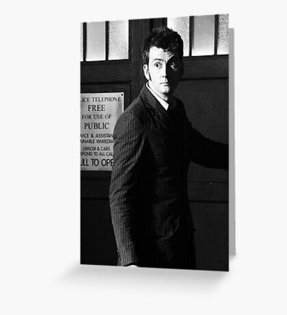 David Tennant Greeting Card