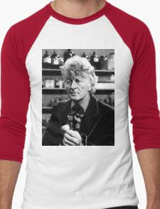 Jon Pertwee Men's Baseball ¾ T-Shirt