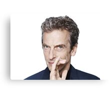 Doctor Who - Peter Capaldi Twelveth Doctor Canvas Print