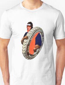 Vintage USSR Tire  Unisex T-Shirt