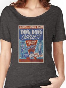 Vintage ding dong girlies Women's Relaxed Fit T-Shirt