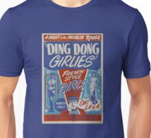 Vintage ding dong girlies Unisex T-Shirt
