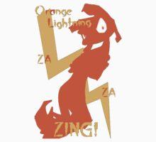 Orange Lightning by ProfCousland