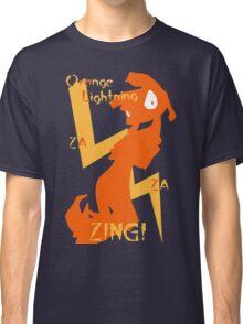 Orange Lightning Classic T-Shirt