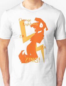 Orange Lightning T-Shirt