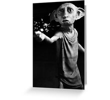 Doby Greeting Card