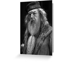 Professor Dumbledore Greeting Card