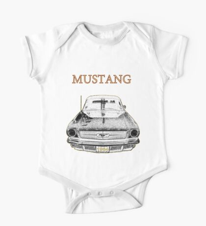 1964 Mustang One Piece - Short Sleeve