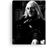 Lucius Malfoy Canvas Print