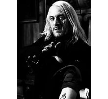 Lucius Malfoy Photographic Print