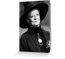 Professor McGonagall Greeting Card