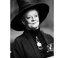 Professor McGonagall Photographic Print