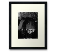 Basket Case - The Breakfast Club Framed Print