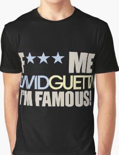 David Guetta EDC Electronic Music T-Shirt Graphic T-Shirt