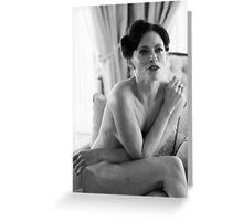 Irene Adler Greeting Card
