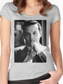 Moriarty 1 Women's Fitted Scoop T-Shirt
