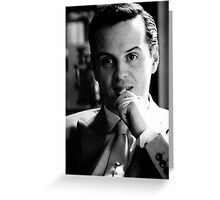 Moriarty 1 Greeting Card