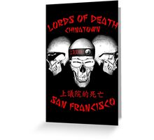 Lords of Death Greeting Card