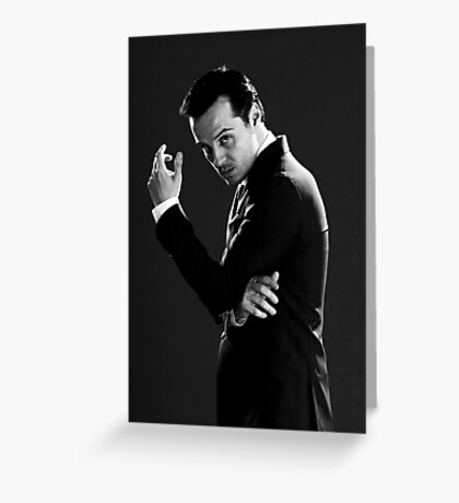 Moriarty 3 Greeting Card