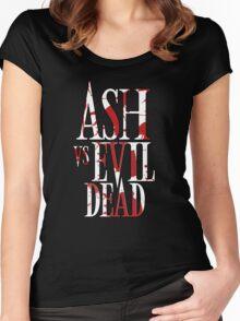 Ash Vs Evil Dead2 Women's Fitted Scoop T-Shirt
