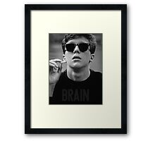 Brain - The Breakfast Club Framed Print