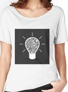 House a bulb Women's Relaxed Fit T-Shirt