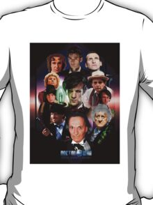 Doctor Who 50th anniversary Poster T-Shirt