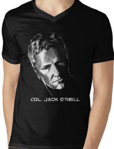 Jack O'Neil Stargate Mens V-Neck T-Shirt