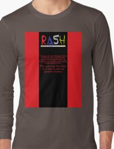 A Theiving Shade of Red Long Sleeve T-Shirt