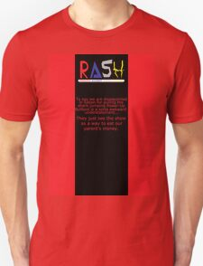 A Theiving Shade of Red Unisex T-Shirt