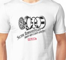 Rare Wheels. Unisex T-Shirt