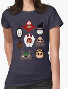 ghibli chraracters ~ 1 Womens Fitted T-Shirt