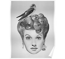 Lucille Bird Ball  Poster