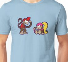 Stoopid Munkees - Diddy and Dixie Unisex T-Shirt