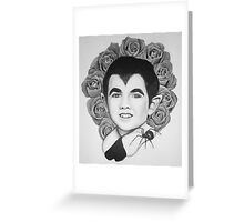 Eddie Roses Munster  Greeting Card