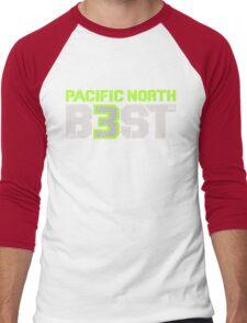 "VICTRS ""Pacific North B3ST"" Men's Baseball ¾ T-Shirt"