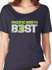 "VICTRS ""Pacific North B3ST"" Women's Relaxed Fit T-Shirt"