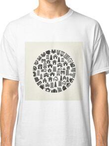 House a circle Classic T-Shirt