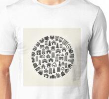 House a circle Unisex T-Shirt