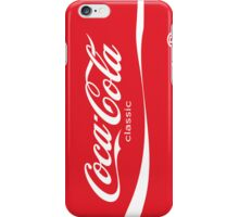 Coca-Cola Classic (Can) iPhone Case/Skin