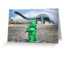 Road-trip photos: Dinosaur! Greeting Card