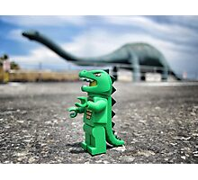 Road-trip photos: Dinosaur! Photographic Print