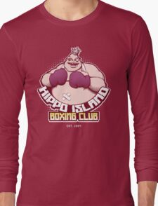 Hippo Island Boxing Club Long Sleeve T-Shirt
