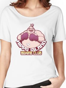 Hippo Island Boxing Club Women's Relaxed Fit T-Shirt