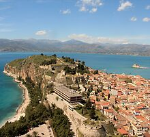 Nafplio, Greece - View from the top by valiaef